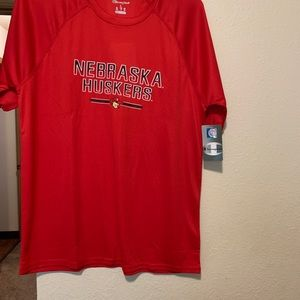 Men's L Champion Nebraska Huskers Shirt